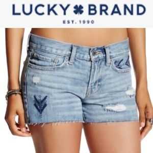 """LUCKY """"THE CUT OFF"""" SHORTS **NWT**"""